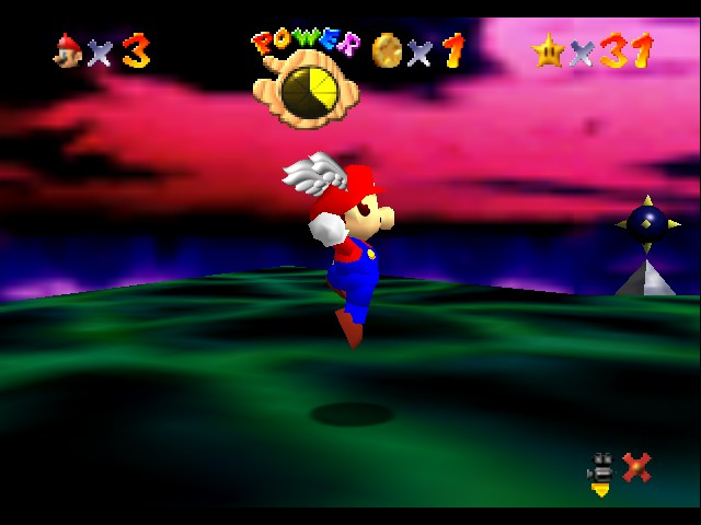 Super Mario 64 - Ending  - I finished it with 31 stars! - User Screenshot